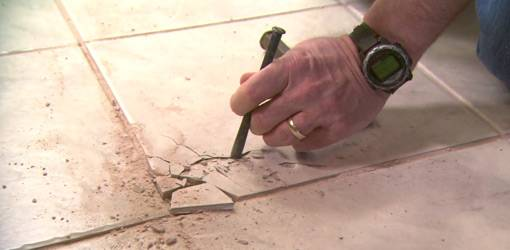 Broken Tile Repair