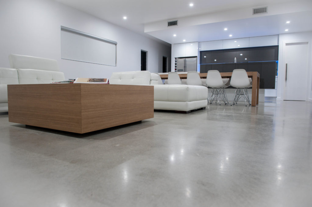 Polished Concrete Floors Industrial Strength High Class Appeal Big Apple Renovations