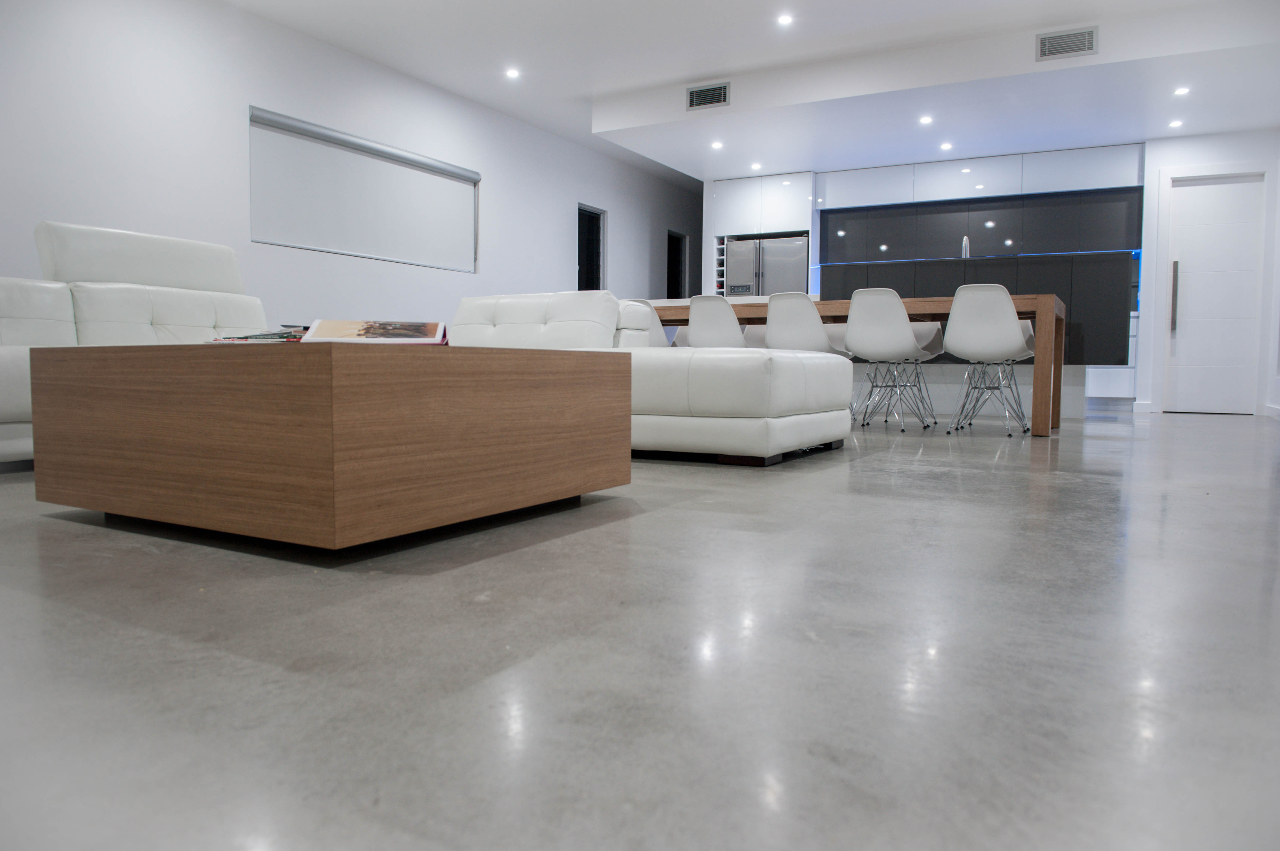 Polished Concrete Floors Strength With High Cl Eal